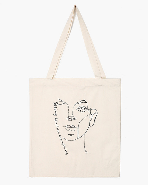 unique drawing eco bag