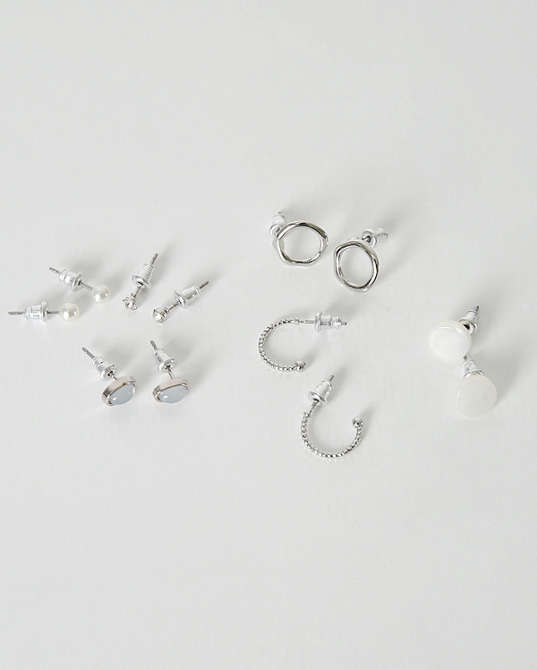 pearl jewelry earring set