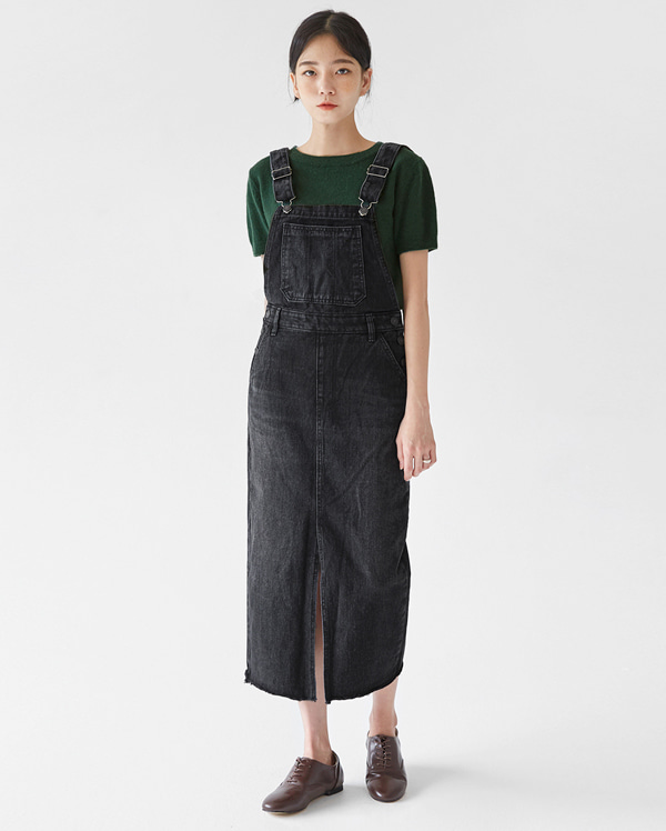 cute denim overall ops (s, m, l)