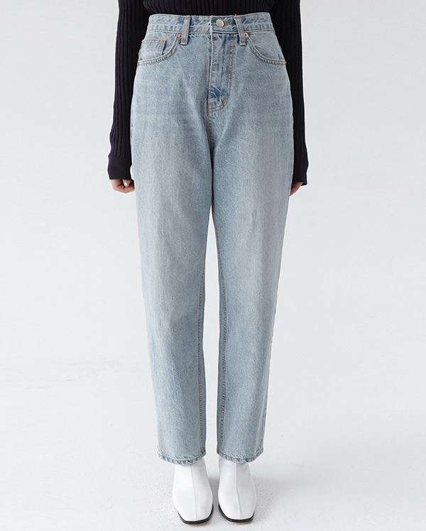 allie denim pants (s, m)