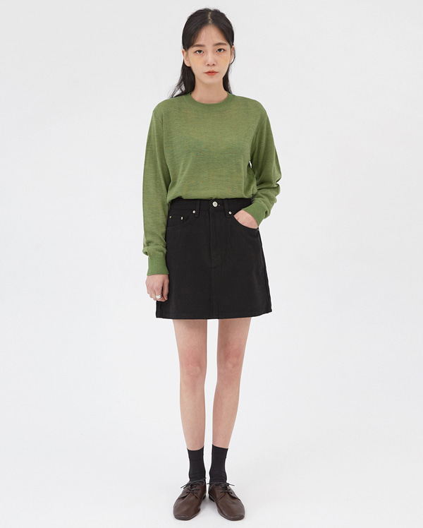 a casey basic skirts (s, m)