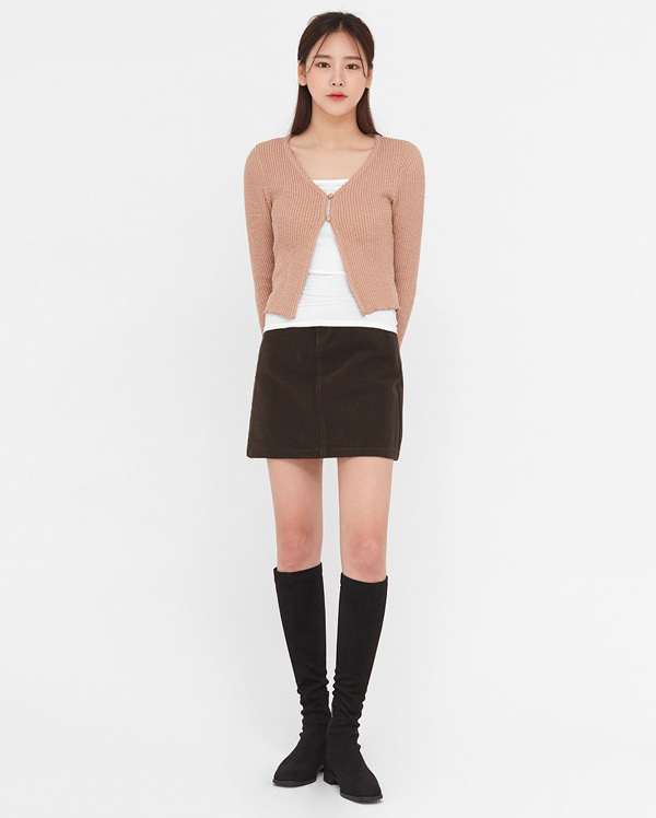 daily soft mini skirts (s, m, l)