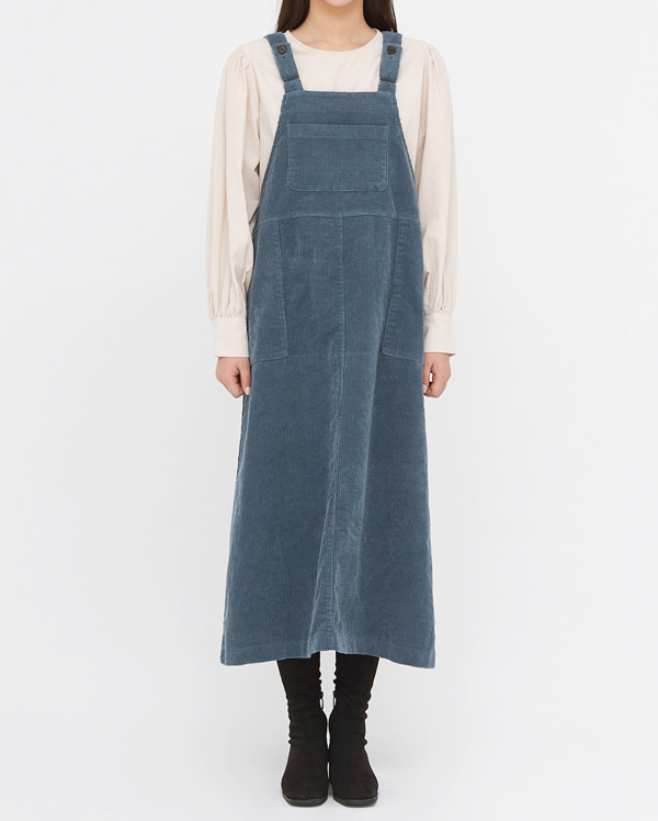 dore corduroy overall long ops